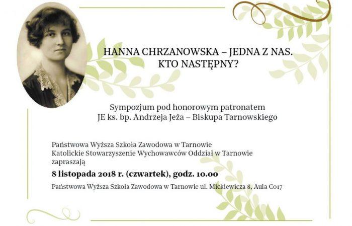 Kto następny? – Sympozjum poświęcone bł. Hannie Chrzanowskiej