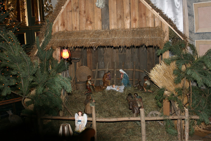 Szopka u św. Mikołaja –  Boże Narodzenie   –  A.D. 2018