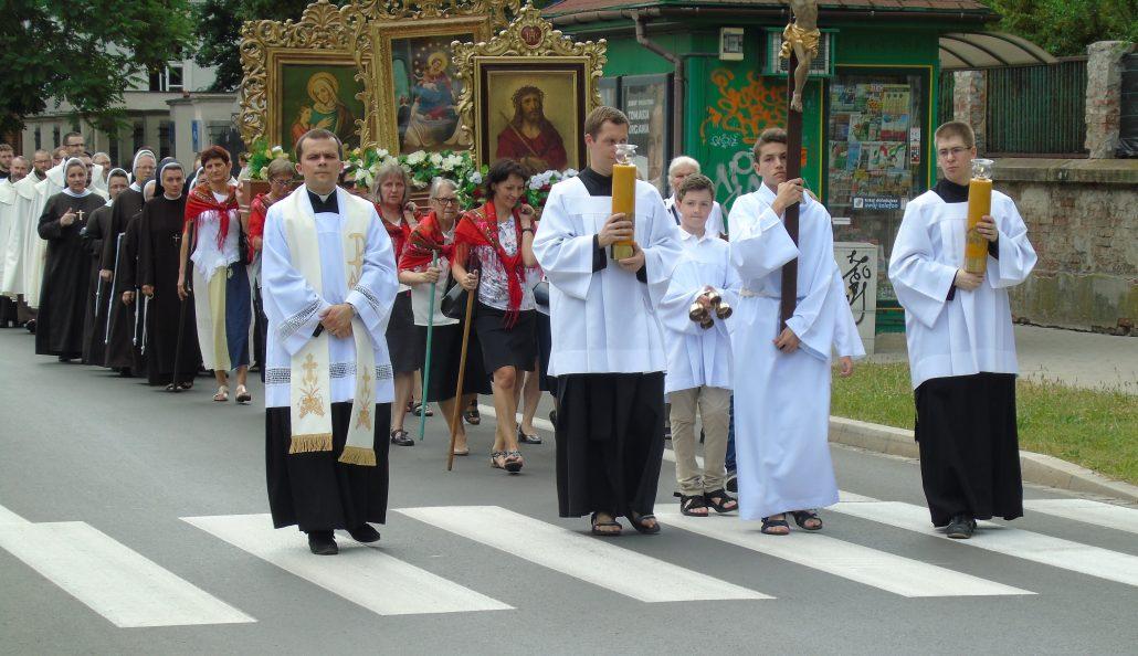 Uroczystość Bożego Ciała w Parafii św. Mikołaja w Krakowie 20.06.2019 r.