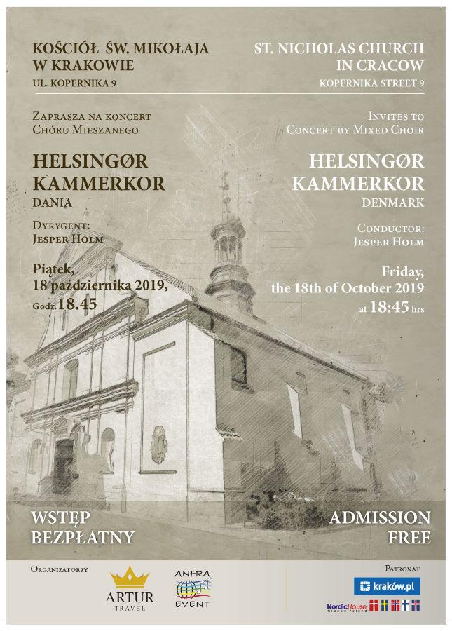 Zaproszenie na koncert 18.10.2019 r. – wstęp wolny