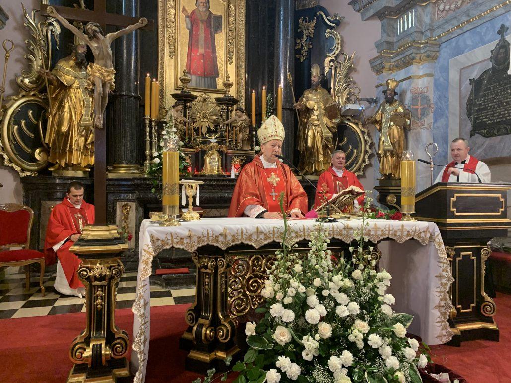 Bierzmowanie w Parafii św. Mikołaja w Krakowie, 23.06.2020 r.