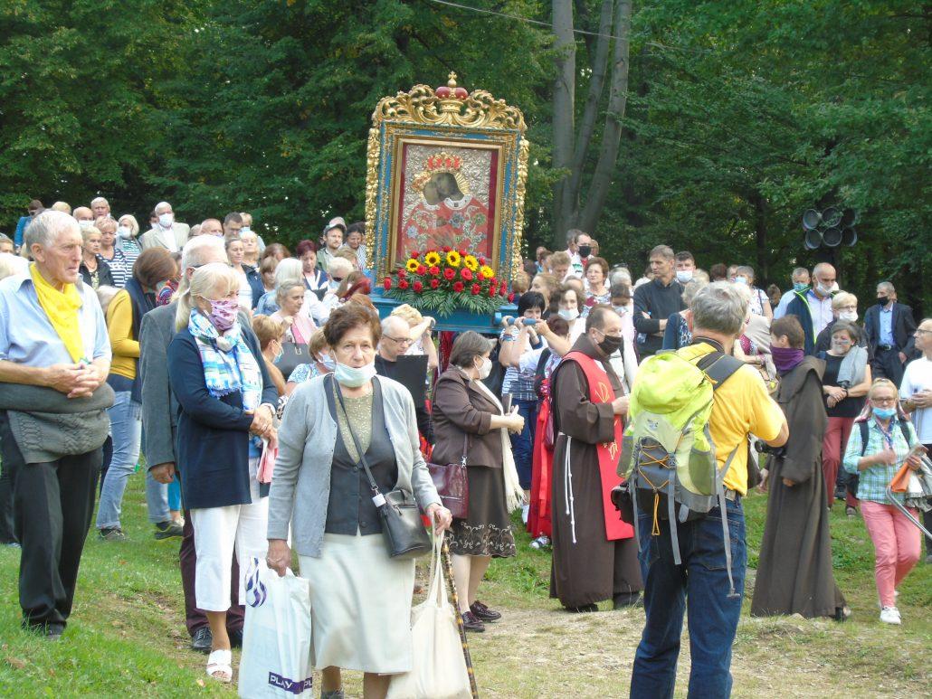 Pielgrzymka rodzin do Kalwarii Zebrzydowskiej, 13.09.2020 r.